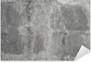 Sticker Pixerstick Mur de beton