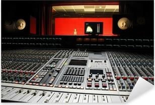 music studio Pixerstick Sticker