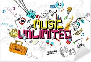 Pixerstick Sticker Music Unlimited