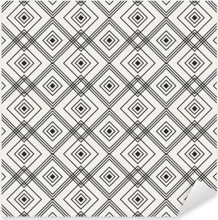 Pixerstick Sticker Naadloze geometrische patroon