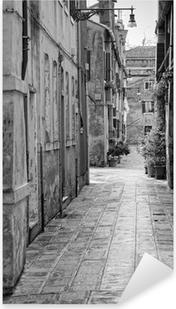 Narrow alley in Venice, Italy Pixerstick Sticker