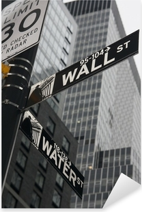 Sticker Pixerstick New York - Wall Street