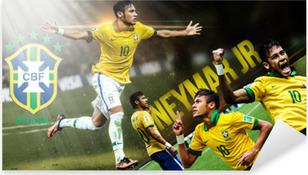 Neymar Pixerstick Sticker