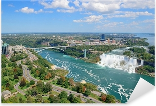 Niagara Falls Panorama Pixerstick Sticker