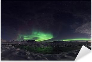 Northern Lights, Spitsbergen Pixerstick Sticker
