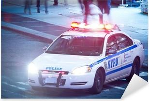 NYPD Polizeiauto Pixerstick Sticker