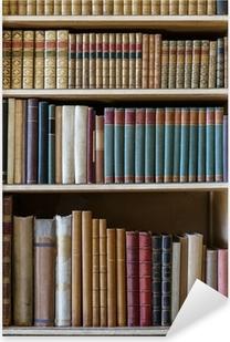 old books Pixerstick Sticker
