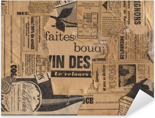 Old Papers #3 Pixerstick Sticker