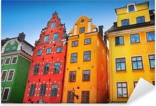 Sticker Pixerstick Old village