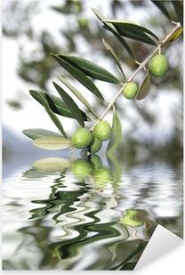 olive riflesse Pixerstick Sticker