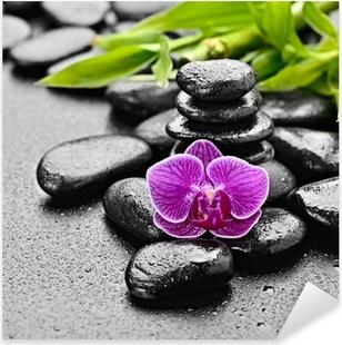 orchid Pixerstick Sticker
