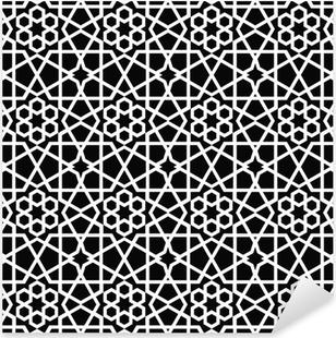 Sticker Pixerstick Ornement seamless pattern