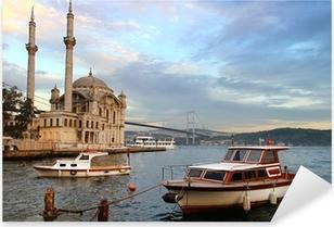 Sticker Pixerstick Ortaköy soir à Istanbul