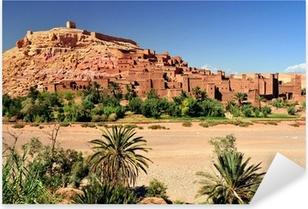 Sticker Pixerstick Ouarzazate Maroc città del film ensemble Il Gladiatore