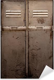 Pixerstick Sticker Oude metalen locker