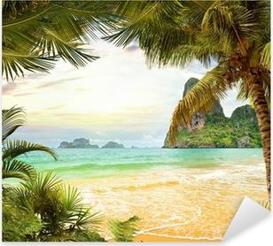 Palm beach Pixerstick Sticker
