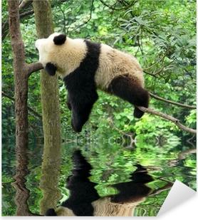 panda Pixerstick Sticker