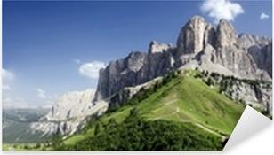 Panoramica sulle Dolomiti Pixerstick Sticker