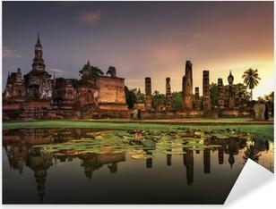 Sticker Pixerstick Parc historique de Sukhothai