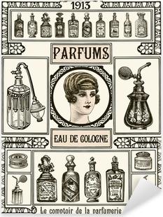 Sticker Pixerstick Parfumerie