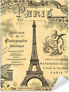 Paris 1900 Pixerstick Sticker