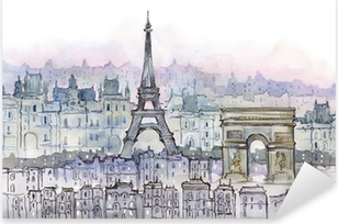 Paris Pixerstick Sticker
