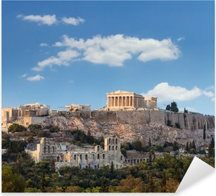 Parthenon, Akropolis - Athens, Greece Pixerstick Sticker