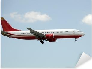Pixerstick Sticker Passenger Jet