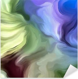 Pixerstick Sticker Pastel kleuren abstract