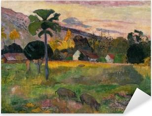 Sticker Pixerstick Paul Gauguin - Haere mai (Viens ici)