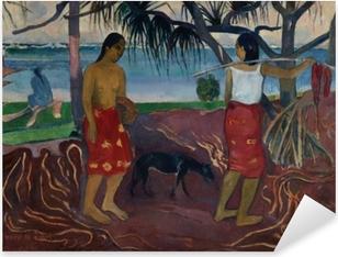Pixerstick Sticker Paul Gauguin - I raro te oviri (Onder de Pandanus)