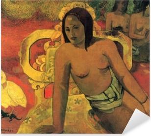 Paul Gauguin - Vairumati Pixerstick Sticker