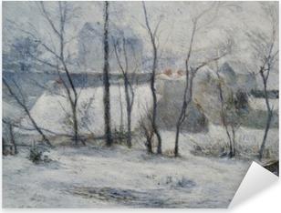 Paul Gauguin - Winter Landscape Pixerstick Sticker