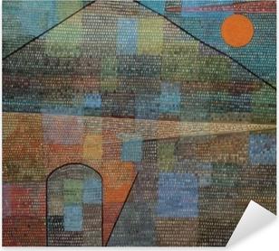 Sticker Pixerstick Paul Klee - Ad Parnassum