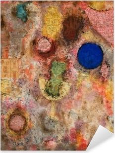 Paul Klee - Magic Garden Pixerstick Sticker