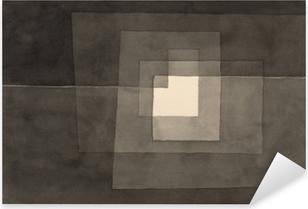 Pixerstick Sticker Paul Klee - Zwei Gänge