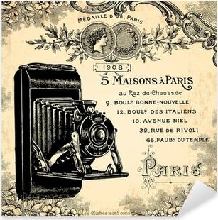 Photographe 1900 Pixerstick Sticker