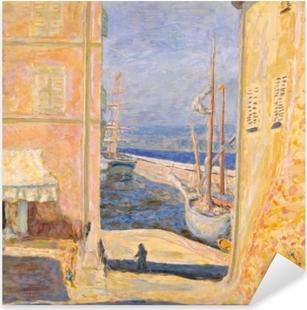 Pierre Bonnard - View on the Old Port, Saint-Tropez Pixerstick Sticker