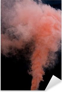 Pink Peach Smoke Bomb Overlays Pixerstick Sticker