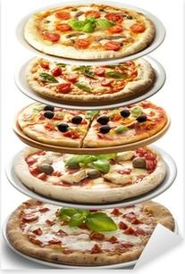 Pizza Pixerstick Sticker