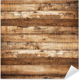 Sticker Pixerstick Planche de bois arrière-plan