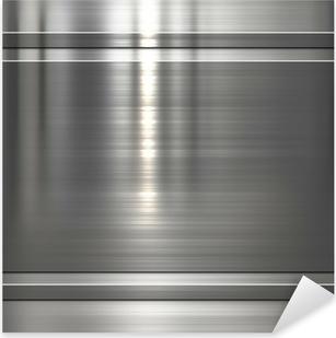 Sticker Pixerstick Plaque de fond en métal