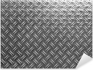 Sticker Pixerstick Plaque métal