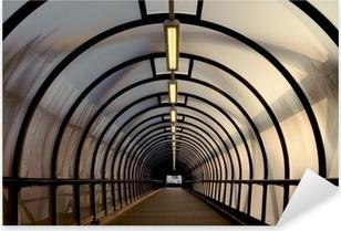 Sticker Pixerstick Plexiglas tunnel passerelle