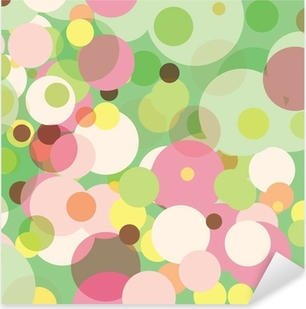 Sticker Pixerstick Points en pastel