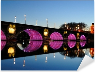 Sticker Pixerstick Pont Neuf à Toulouse