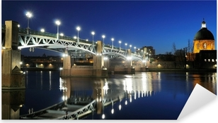Sticker Pixerstick Pont Saint Pierre à Toulouse