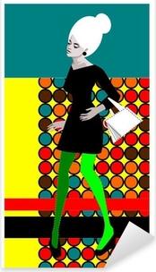 Sticker Pixerstick Pop'art