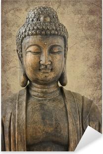 Sticker Pixerstick Portrait de Bouddha