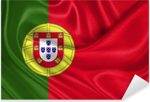 Sticker Pixerstick Portugal flag